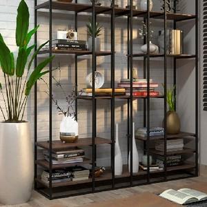 Gabinete de madeira para pia