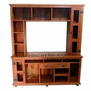 Armário de madeira maciça para cozinha